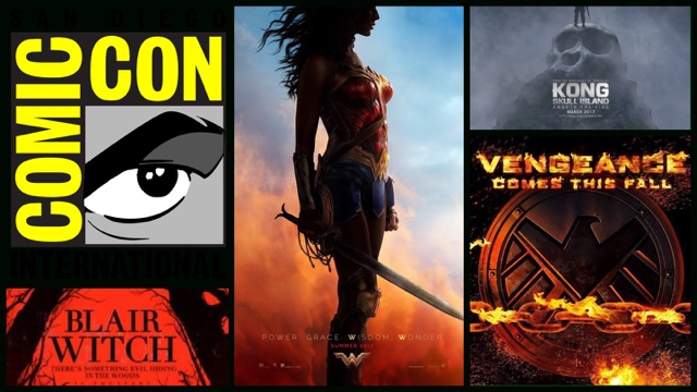 Skull Island Teaser Reveals King Kong Remake At Comic Con: Day 2: Wonder Woman, Blair Witch, Ghost Rider