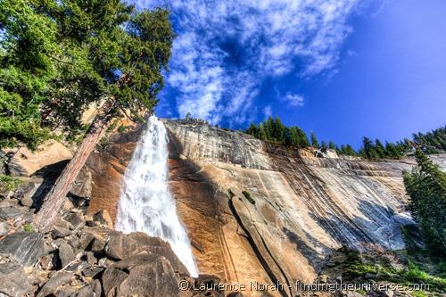 Nevada Falls Yosemite shot on Vanguard Veo