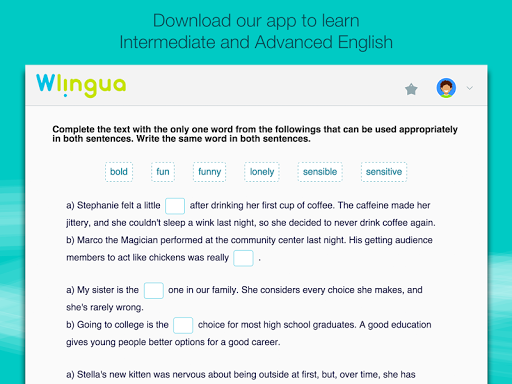 Advanced English with Wlingua screenshot 13