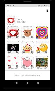Gif2sticker Animated Sticker Maker For Whatsapp On Windows Pc Download Free 0 5 6 Es Transfinite Gif2sticker