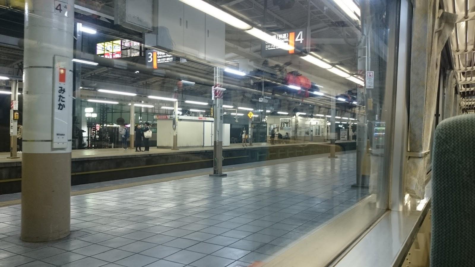 0:10 三鷹駅で運転停車