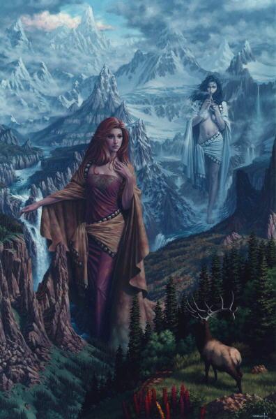 Autumn Nature Socceress, Sorceress 1