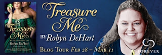 Q&A AND GIVEAWAY BLOG TOUR – TRESURE ME BY ROBYN DEHART