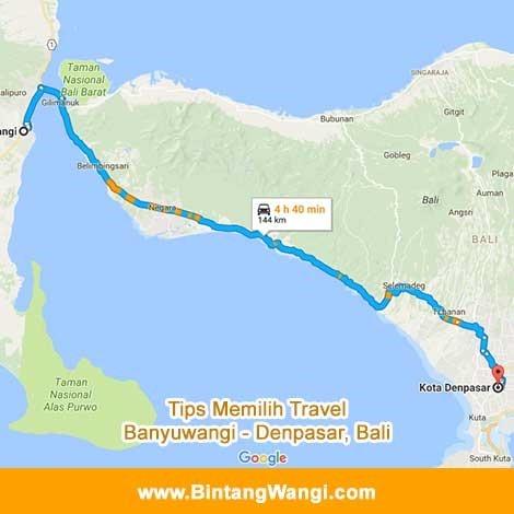 Tips Travel Banyuwangi Denpasar, Bali
