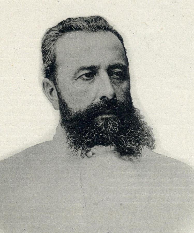 D. José María Ariño y Michelena. Teniente de Navio de 1ª Clase. Comandante del Galicia. El Mundo Naval Ilustrado. Año 1898.JPG