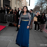 WWW.ENTSIMAGES.COM -     Nina Wadia    arriving at      The Asian Awards at Grosvenor House, 86-90 Park Lane, London April 16th 2013                                            Photo Mobis Photos/OIC 0203 174 1069