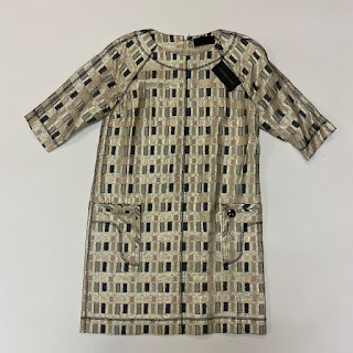 Derek Lam Lamé Shift Dress