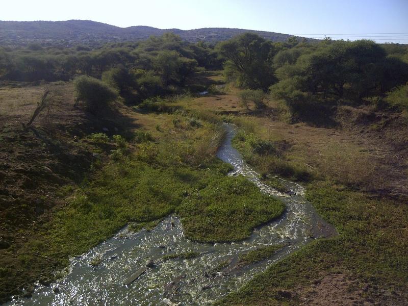 Notwane River near Morwa