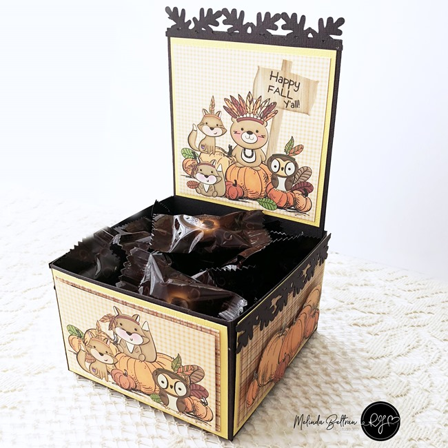 Foxy Fall RGStudio Digi Download Treat Box