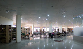Main hall of  Prof. Dr. Mohammad Nizamuddin Library, UOG