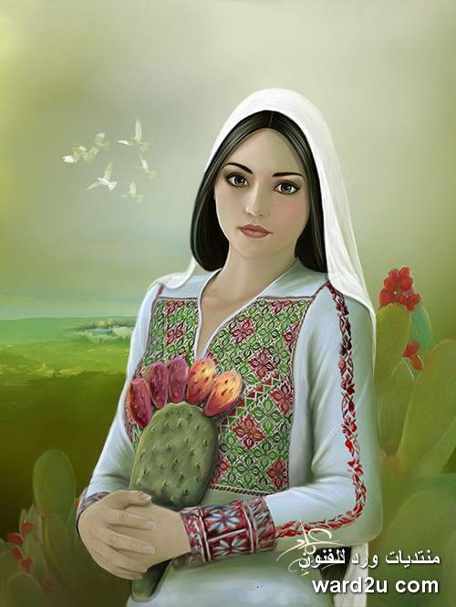 لوحات خيالية للفنان عماد ابو شتيه Emad Abu Shtayeh
