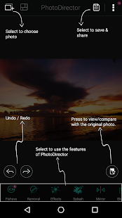 PhotoDirector Photo Editor App Screenshot 24