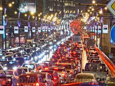 пробки в Москве, 8 марта, КостаБланка.РФ