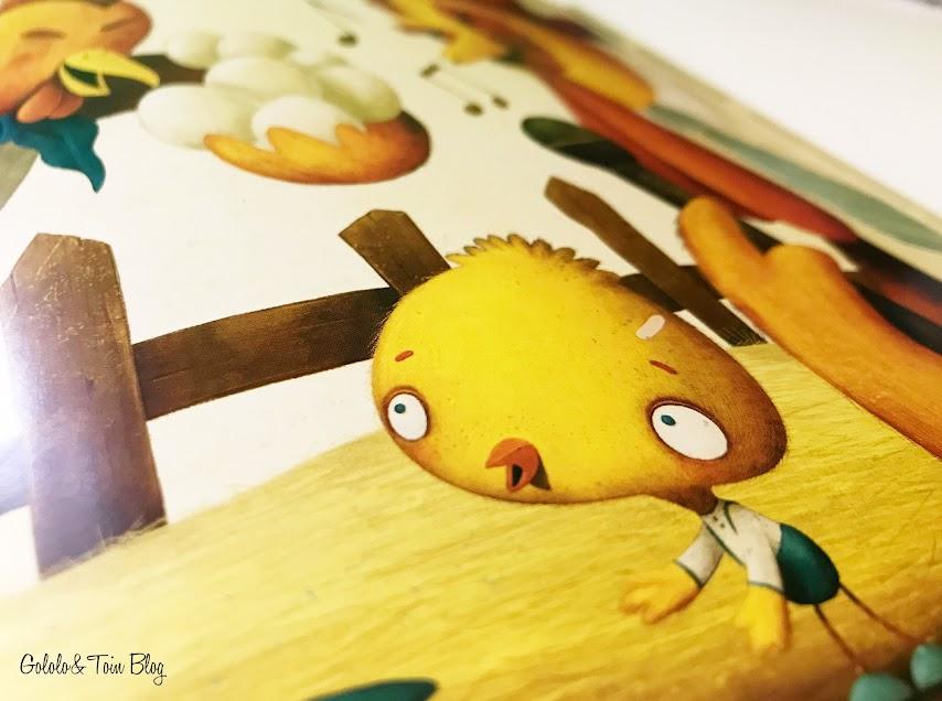 ilustraciones cuento Pollosaurio