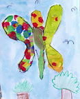 Tissue Paper Butterfly by Max