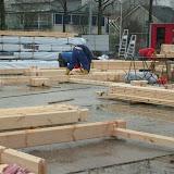 Foto's sloop & bouw clubhuis 2008/2009
