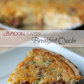 Bacon 'Tater Breakfast Quiche