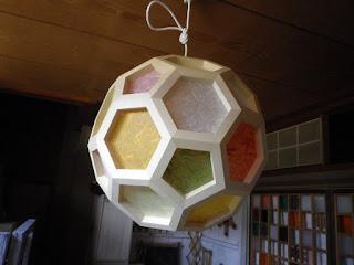 ビッグフットボールランプ オーダーのランプです