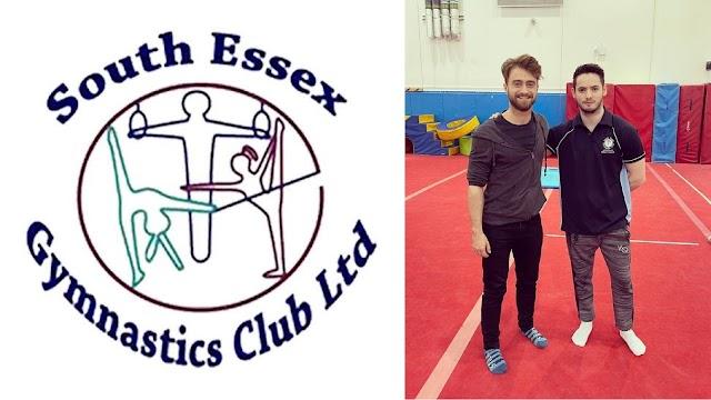 Daniel Radcliffe foi visto no South Essex Gymnastic Club