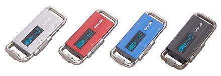 カラビナ型MP3プレーヤー