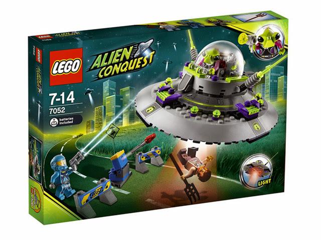 7052 レゴ UFOアブダクション