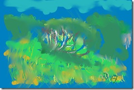 the old bearded heath created with Corel Painter