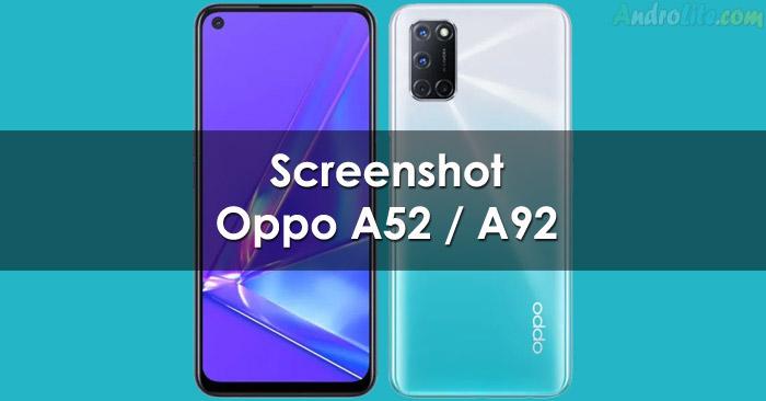 Screenshot Oppo A52, A72, A92