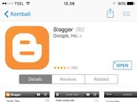 Aplikasi Blogger bagi bloger bijak