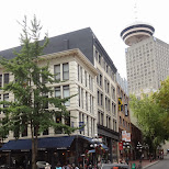 Gastown in Vancouver in Vancouver, British Columbia, Canada