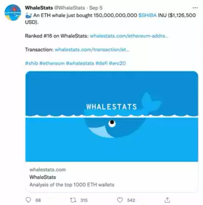 Whalestats.