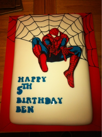 That Guy Who Makes Cakes The Amazing Spiderman Made