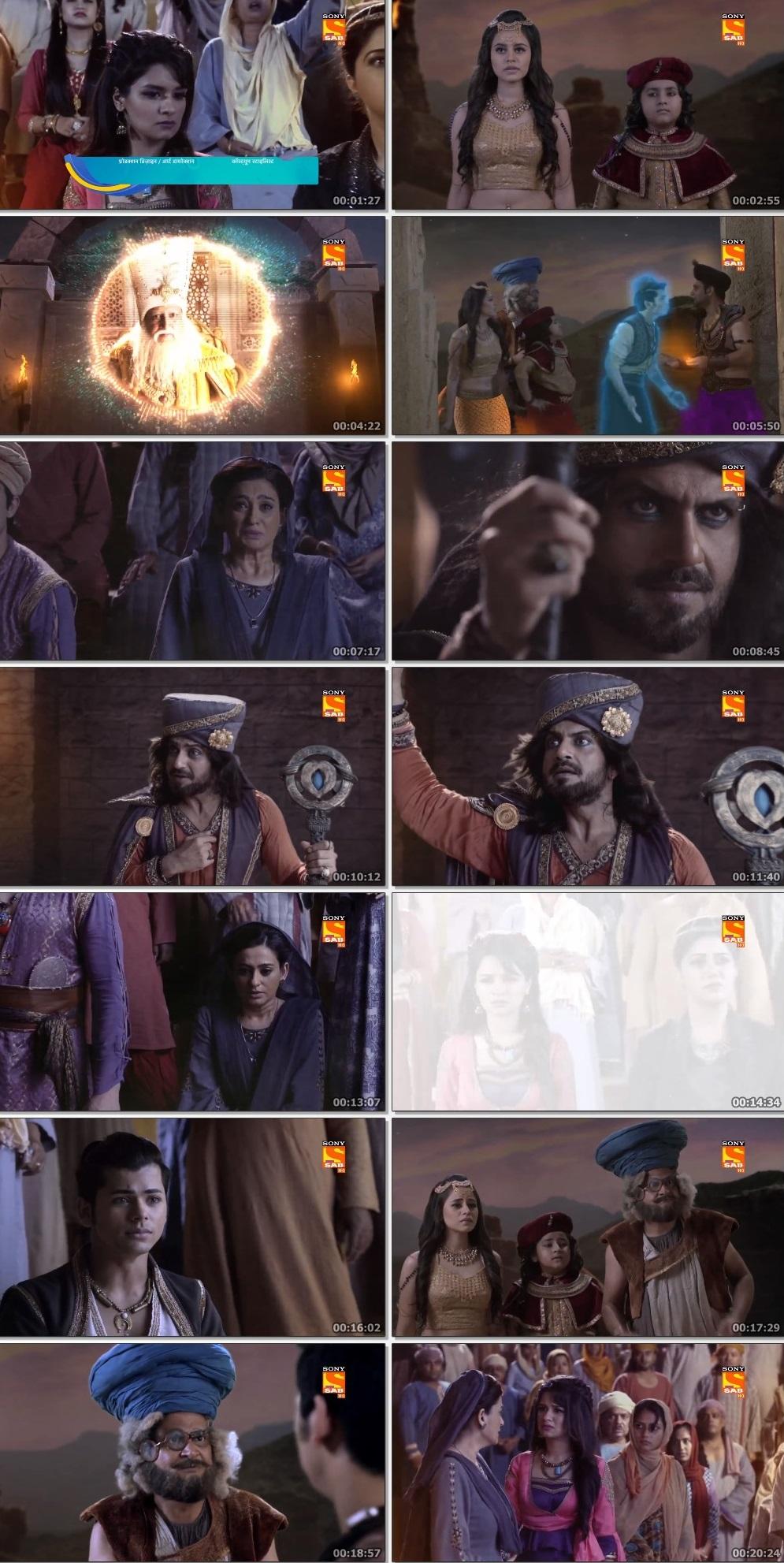 Screenshots Of Hindi Show Aladdin – Naam Toh Suna Hoga 2019 Episode 296 300MB 720P HD