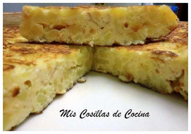 Tortilla De Patatas En El Microondas
