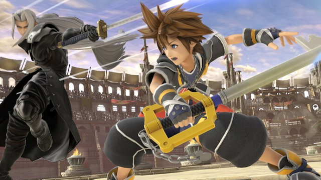"""Sora is the last fighter to be added into """"Ultimate."""" (Nintendo)"""
