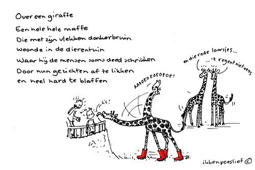 Ik Ben Poeslief Poeslief Rijmpje Quot Over Een Giraffe Quot