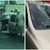 Árvore cai em cima de carro e fere motorista na orla de Petrolina