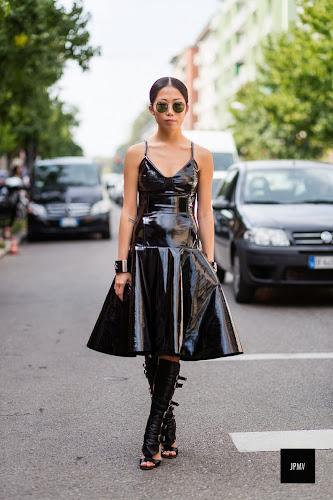 Vestidos midi, Oksana On, Street style