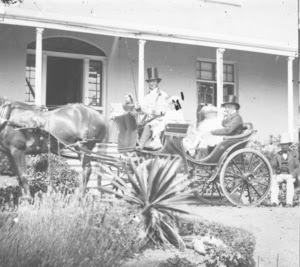 Carriage outside 'Summerhome'
