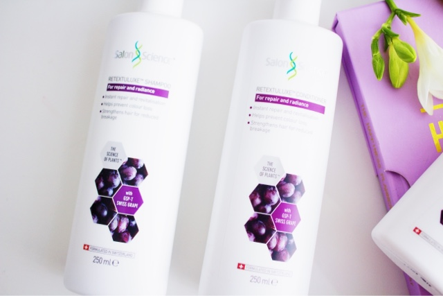 Salon Science Swiss Grape Shampoo and Conditioner