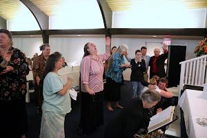 Altar service, praying and loving Jesus.