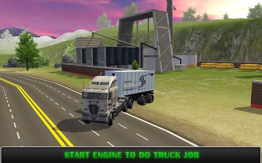 Heavy Truck Simulator Pro  captures d'u00e9cran 1