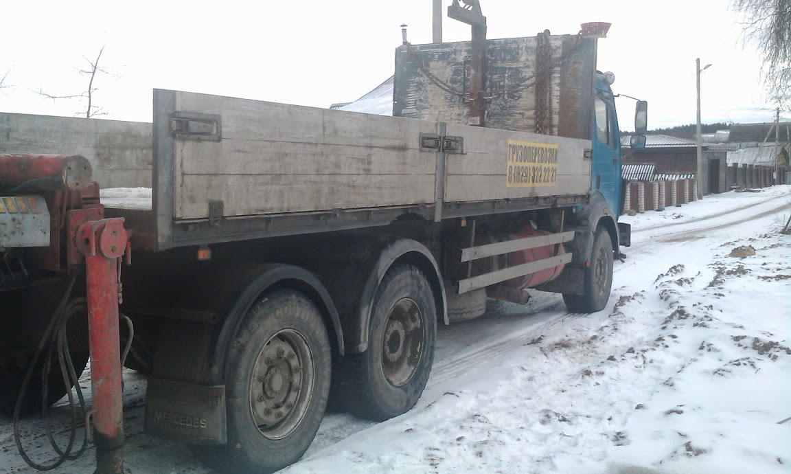грузовик с манипулятором