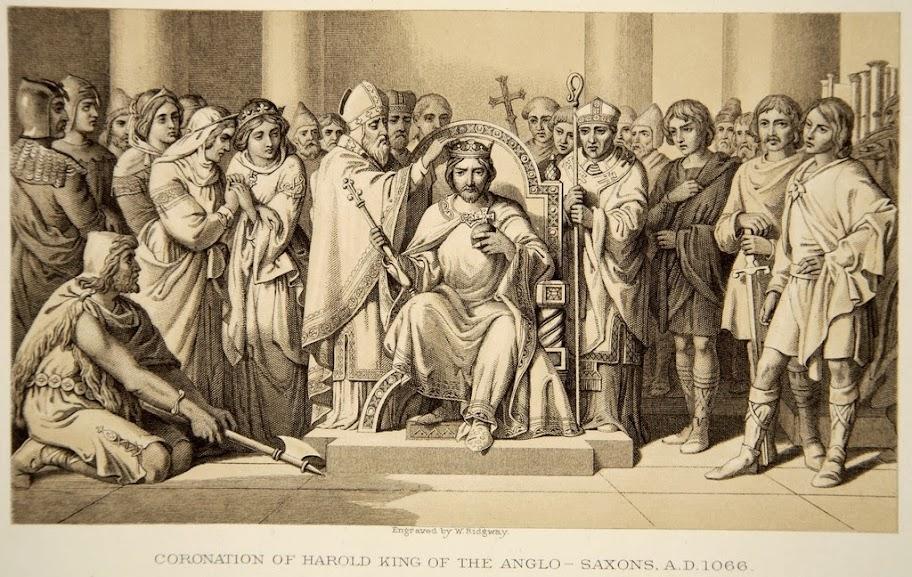 Daniel Maclise - Coronation of Harold King of the Anglo-Saxons