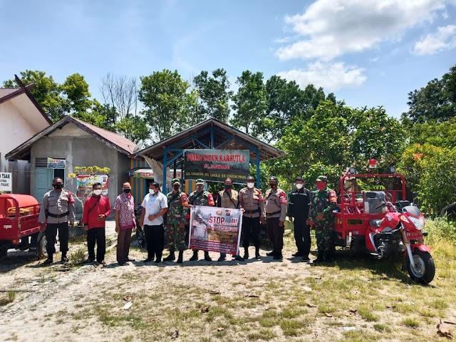 Cegah Karhutla, Ini Pesan Babinsa Tanjung Pinang kepada Warga