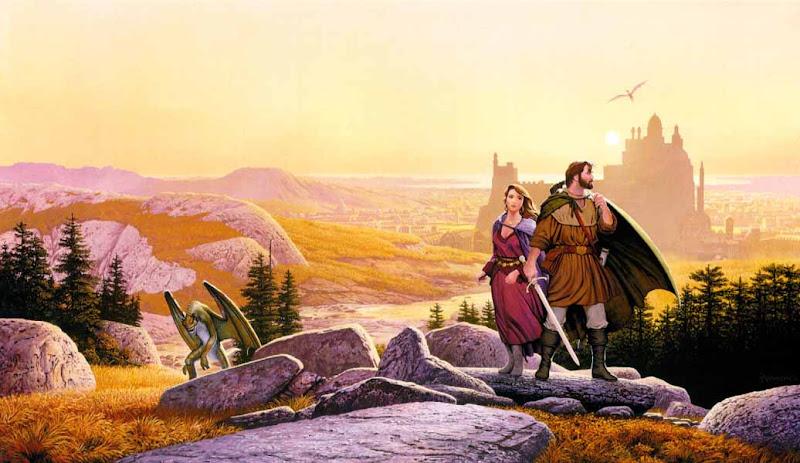Strangers In Lands Of Sorrow, Fantasy Scenes 1