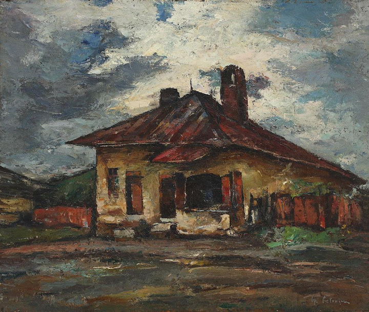 Gheorghe Petrașcu - Brutărie (Casă cu cer închis)