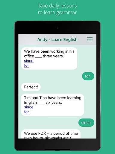 Andy - English Speaking Bot screenshot 5
