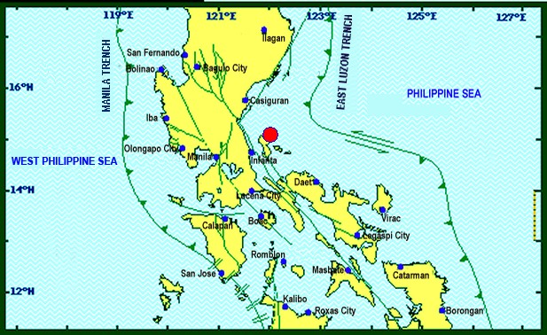 Magnitude 4.4 earthquake rattles Polillo Quezon