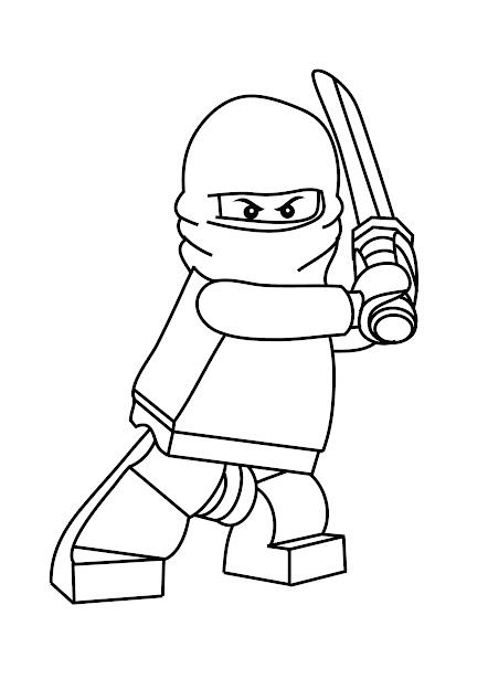 Free Printable Ninjago Coloring Pages For Kids In Free Printable Ninjago  Coloring Pages