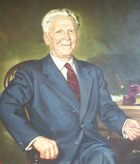 Portrait of Professor J.N.  Anderson at Union College